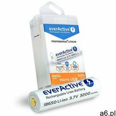 EVERACTIVE AKUMULATOR 18650 3,7V FWEV1865032MBOX- Zamów do 16:00, wysyłka kurierem tego samego dnia! - ogłoszenia A6.pl