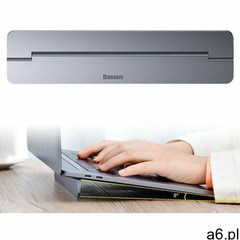Baseus papery universal laptop stand dark grey (6953156217539) - ogłoszenia A6.pl