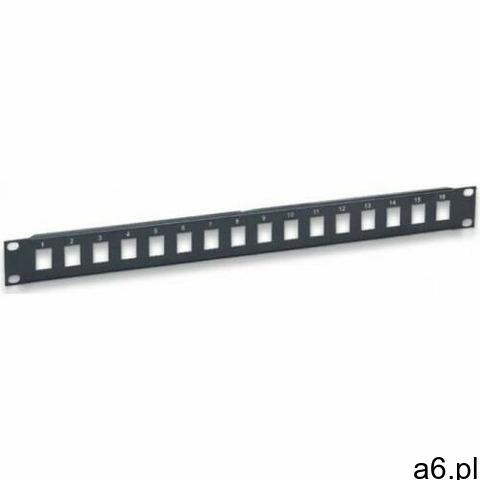 INTELLINET Patch Panel 16 portów otwarty do modułów Keystone 513593 - 1