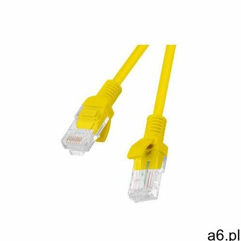 patchcord utp kat.5e 0.25m żółty pcu5-10cc-0025-y - pcu5-10cc-0025-y- natychmiastowa wysyłka, ponad  - 1
