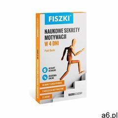 FISZKI NAUKOWE SEKRETY MOTYWACJI W 4 DNI - Wysyłka od 3,99 - porównuj ceny z wysyłką (2016) - ogłoszenia A6.pl