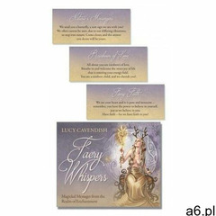 Faery Whispers Affirmation Deck: Magickal Messages from the Realm of Enchantment (9780738767567) - ogłoszenia A6.pl