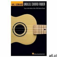 Hal Leonard Ukulele Chord Finder: Easy-To-Use Guide to Over 1,000 Ukulele Chords - ogłoszenia A6.pl