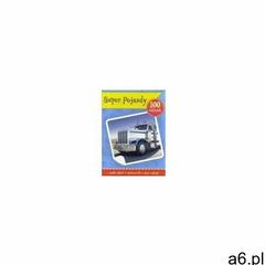 Super pojazdy książeczka z plakatem i 100 naklejek (8 str.) - ogłoszenia A6.pl