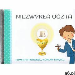 Pamiatka Pierwszej Komunii Świętej. Niezwykła uczta niebieska, oprawa twarda - ogłoszenia A6.pl