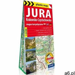 Jura krakowsko-częstochowska foliowana mapa turystyczna 1:50 000, Expressmap - ogłoszenia A6.pl