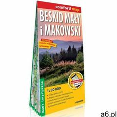 Beskid mały i makowski laminowana mapa turystyczna 1:50 000 (2021) - ogłoszenia A6.pl