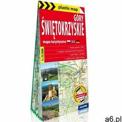Góry świętokrzyskie foliowana mapa turystyczna 1:75 000 (2020) - ogłoszenia A6.pl