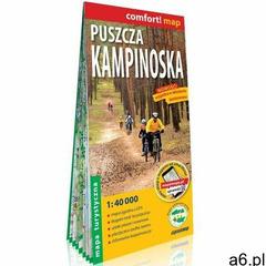 Puszcza kampinoska laminowana mapa turystyczna 1:40 000 (9788381903776) - ogłoszenia A6.pl
