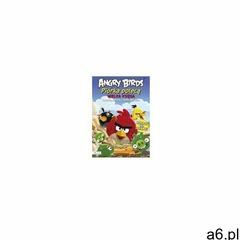 Angry Birds. Piórka polecą. Wielka księga kolorowanek i łamigłówek, praca zbiorowa - ogłoszenia A6.pl