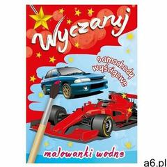 Wyczaruj samochody wyścigowe. Malowanki wodne praca zbiorowa (9788379157877) - ogłoszenia A6.pl
