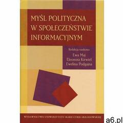 Myśl polityczna w społeczeństwie informacyjnym, UMCS - ogłoszenia A6.pl