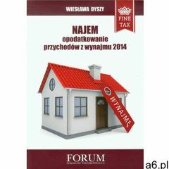 Najem opodatkowanie przychodów z wynajmu 2014 (2013) - ogłoszenia A6.pl