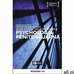 Psychologia penitencjarna. Rozdział 3-4 - ogłoszenia A6.pl