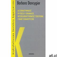 Alternatywność w poezji i dramacie (36 str.) - ogłoszenia A6.pl