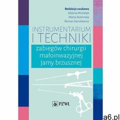 Instrumentarium i techniki zabiegów chirurgii małoinwazyjnej jamy brzusznej - ogłoszenia A6.pl