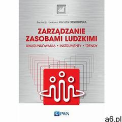 Zarządzanie zasobami ludzkimi - Renata Oczkowska (MOBI) (9788301209377) - ogłoszenia A6.pl