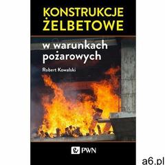Konstrukcje żelbetowe w warunkach pożarowych, Robert Kowalski - ogłoszenia A6.pl