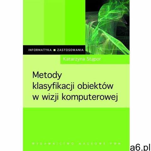 Metody klasyfikacji obiektów w wizji komputerowej (9788301203993) - 1