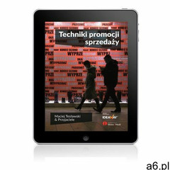 Techniki promocji sprzedaży - Maciej Tesławski, Wydawnictwo Słowa i Myśli - ogłoszenia A6.pl