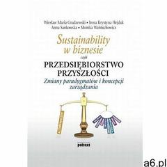 Sustainability w biznesie czyli przedsiębiorstwo przyszłości - Irena Krystyna Hejduk, Anna Sankowska - ogłoszenia A6.pl
