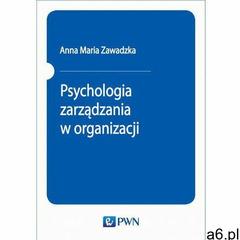 Psychologia zarządzania w organizacji, Wydawnictwo Naukowe PWN - ogłoszenia A6.pl