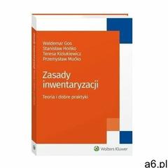 Zasady inwentaryzacji. teoria i dobre praktyki - przemysław mućko, waldemar gos, stanisław hońko, te - ogłoszenia A6.pl