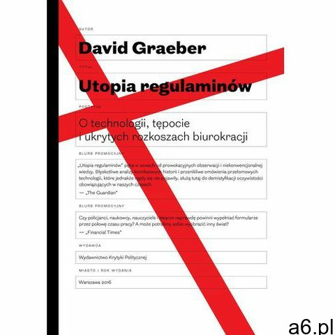 Utopia regulaminów - David Graeber - 1