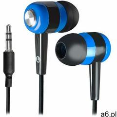 Słuchawki Defender BASIC 616 douszne czarno-niebieskie - ogłoszenia A6.pl