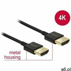 Kabel Delock HDMI A - HDMI A 1.5m Czarny (84772) Darmowy odbiór w 21 miastach! (4043619847723) - ogłoszenia A6.pl