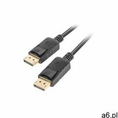 Lanberg kabel displayport m/m 19 pin v1.2 1,8m 4k czarny (5901969413373) - ogłoszenia A6.pl