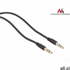 Kabel Maclean Minijack 3.5 - Minijack 3.5 5m Czarny (MCTV-817) Darmowy odbiór w 21 miastach!, MCTV-8 - ogłoszenia A6.pl