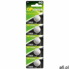 Gp batteries 5 x bateria litowa mini gp cr2025 - ogłoszenia A6.pl