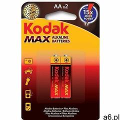 Baterie AA LR6 KODAK Max KAA-2 (2 szt.) (0887930952827) - ogłoszenia A6.pl