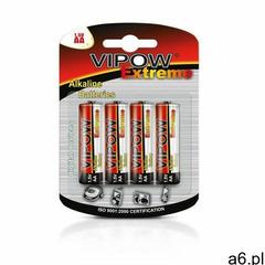 VIPOW Baterie alkaliczne EXTREME LR06 4szt./bl. - ogłoszenia A6.pl