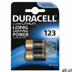 Duracell CR123A Ultra 2szt blister - ogłoszenia A6.pl