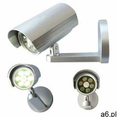 Lampa bezpieczeństwa/kamera z czujnikiem ruchu, 6 LED - ogłoszenia A6.pl