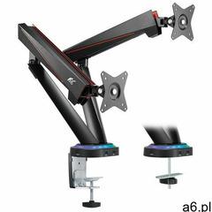 MACLEAN UCHWYT GAMINGOWY NA 2 MONITORY LCD RS887- Zamów do 16:00, wysyłka kurierem tego samego dnia! - ogłoszenia A6.pl