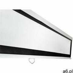4world Ekran projekcyjny na ścianę 244x183 (120'', 4:3) biały mat (5908214349630) - ogłoszenia A6.pl