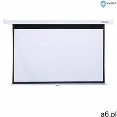 """ekran projekcyjny ścienny 221x124 (100"""",16:9) matt white marki 4world - ogłoszenia A6.pl"""