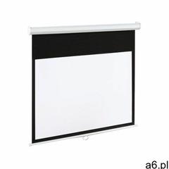 Ekran projekcyjny ART EM-120 Matte White bez statywu 244 x 183, EKREL EM-120 4:3E - ogłoszenia A6.pl
