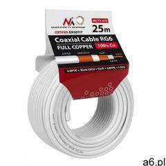 Kabel koncentryczny Maclean MCTV-470 25m- natychmiastowa wysyłka, ponad 4000 punktów odbioru! - ogłoszenia A6.pl