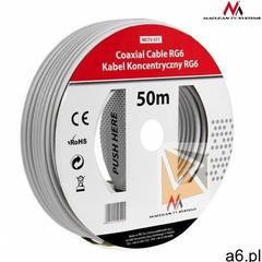 Kabel Maclean koncentryczny satelitarny 1.0CCS RG6 50m (MCTV-571) Darmowy odbiór w 21 miastach! (590 - ogłoszenia A6.pl