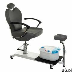 Vanity_b Fotel do pedicure z masażerem stóp br-2301 szary - ogłoszenia A6.pl