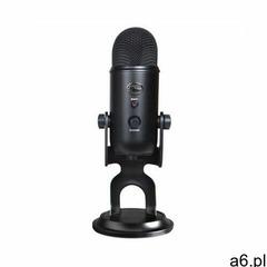 Mikrofon do streamingu BLUE Yeti USB Blackout 988-000229 (5099206084070) - ogłoszenia A6.pl