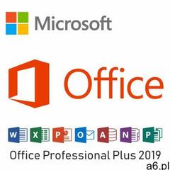 Microsoft offic 2019 pro plus 32/64bit pl marki E - ogłoszenia A6.pl