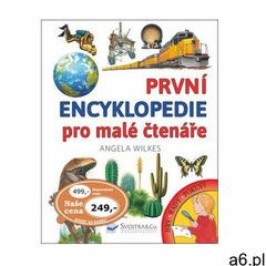 První encyklopedie pro malé čtenáře Angela Wilkes (9788025623732) - ogłoszenia A6.pl