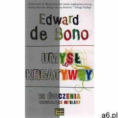 Umysł kreatywny 62 ćwiczenia rozwijające intelekt (9788360656112) - ogłoszenia A6.pl