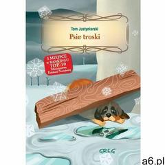PSIE TROSKI - OKLEINA GREG 9788375175769 + zakładka do książki GRATIS, oprawa twarda - ogłoszenia A6.pl