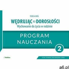 Wędrując ku dorosłości LO 2 program naucz. RUBIKON - Teresa Kró - książka, Teresa Kró - ogłoszenia A6.pl